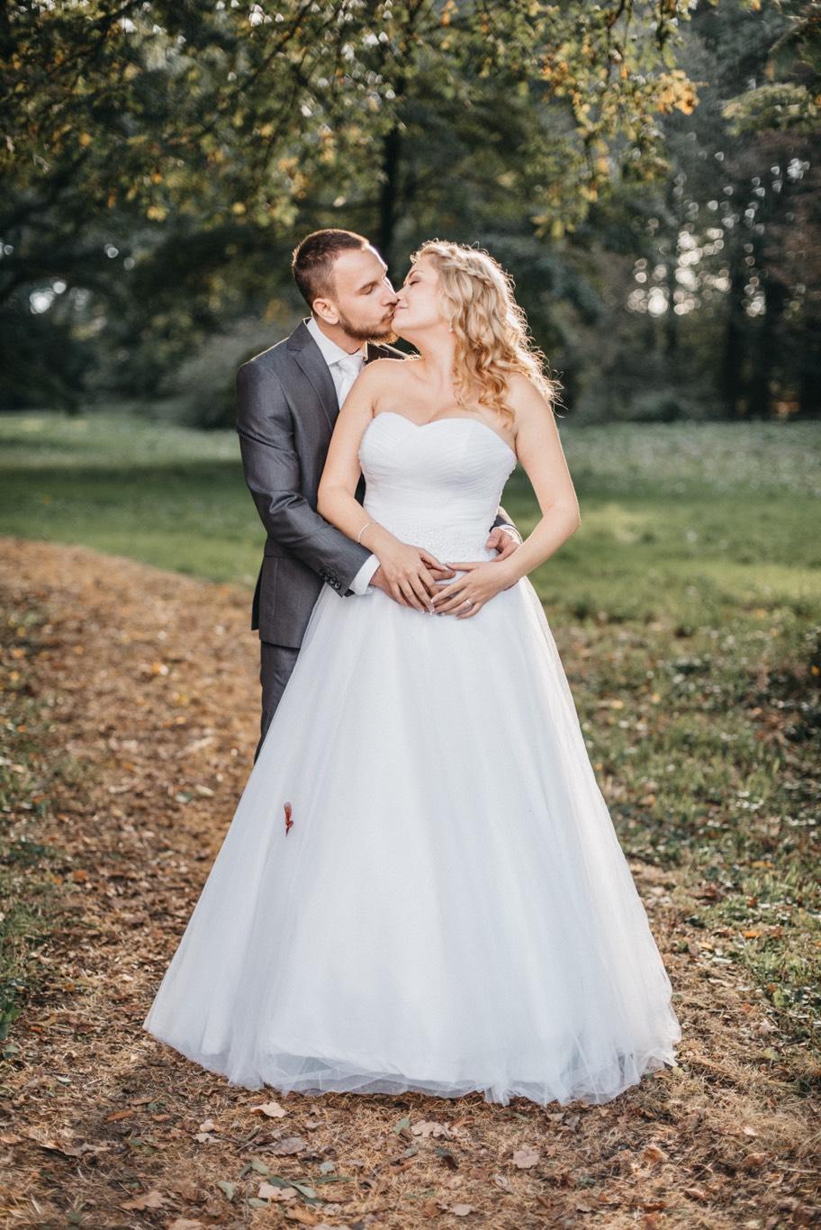 Svatební portrét Lukáše a Verunky