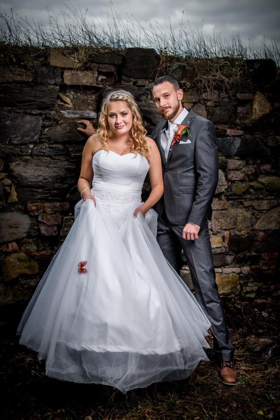 Svatební fotografie Lukáše a Verunky