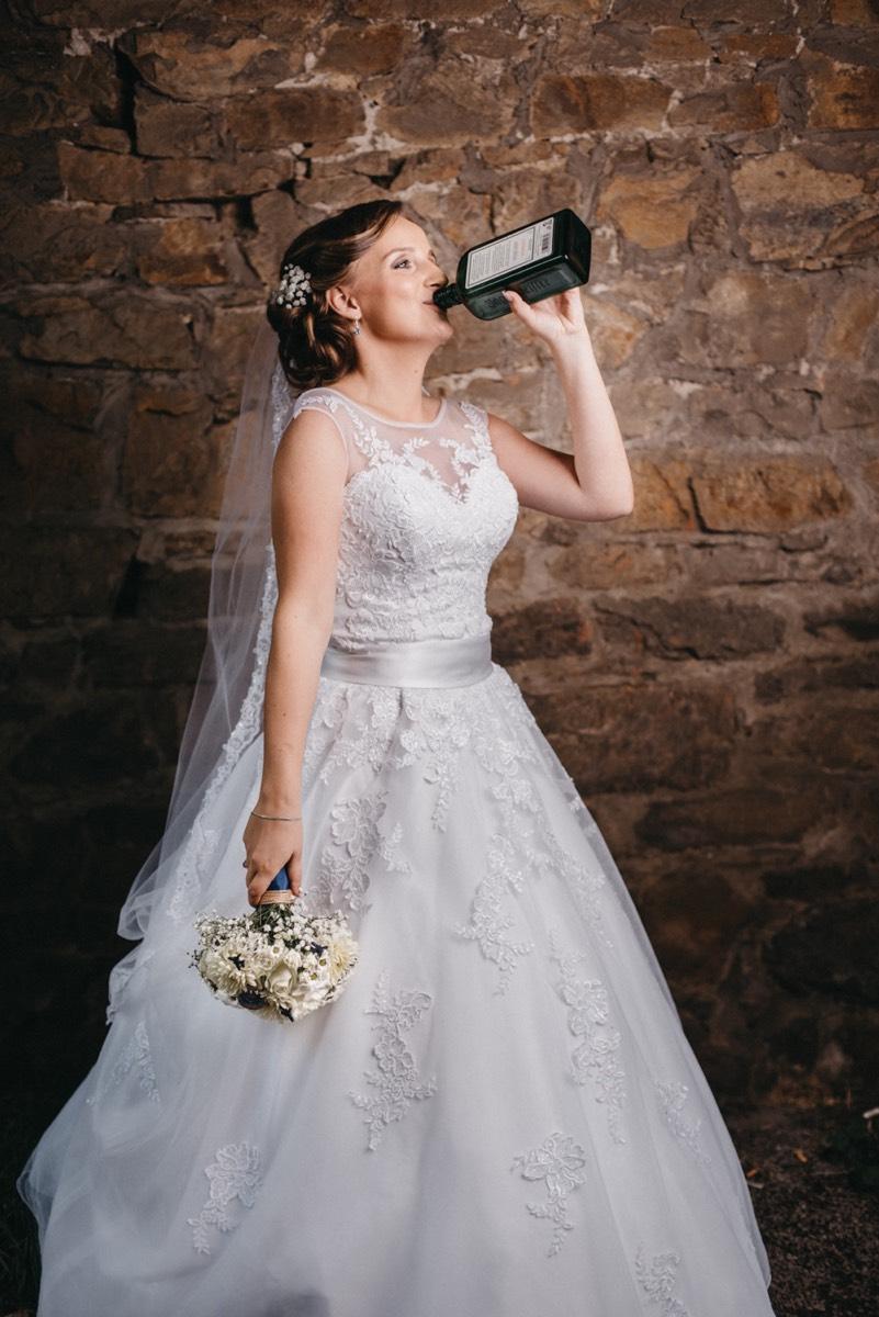 Svatební přípitek :-)