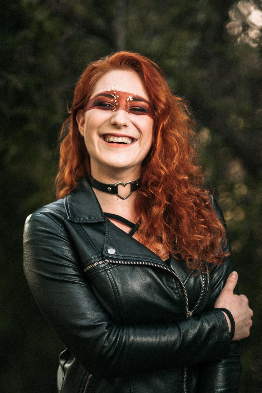 Fotografie portrétní, stylizovaná (Jan Lipina), MUA: Klára Gojová, modelka Kristýna Benešová