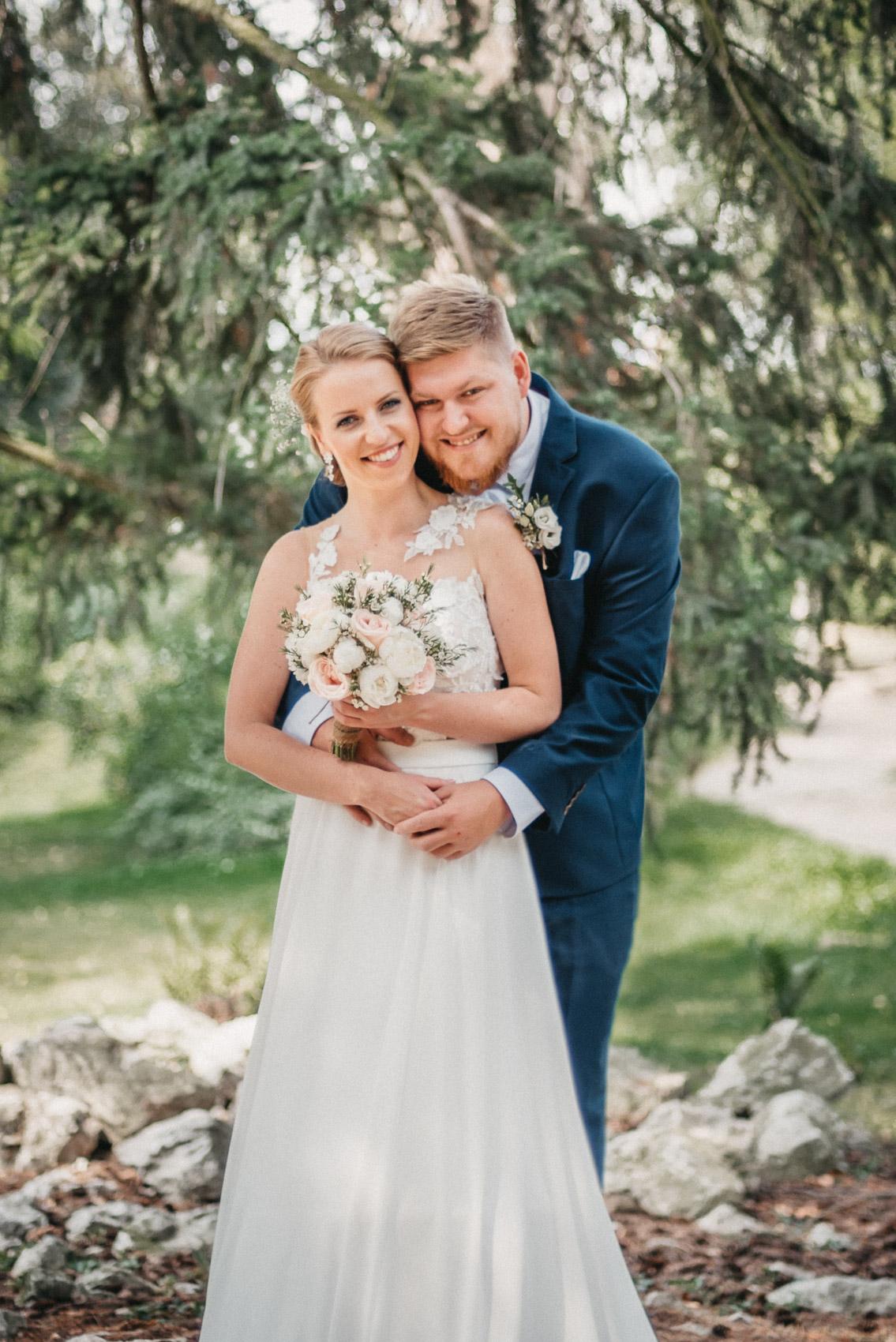 portréty novomanželů v klimkovickém parku 8