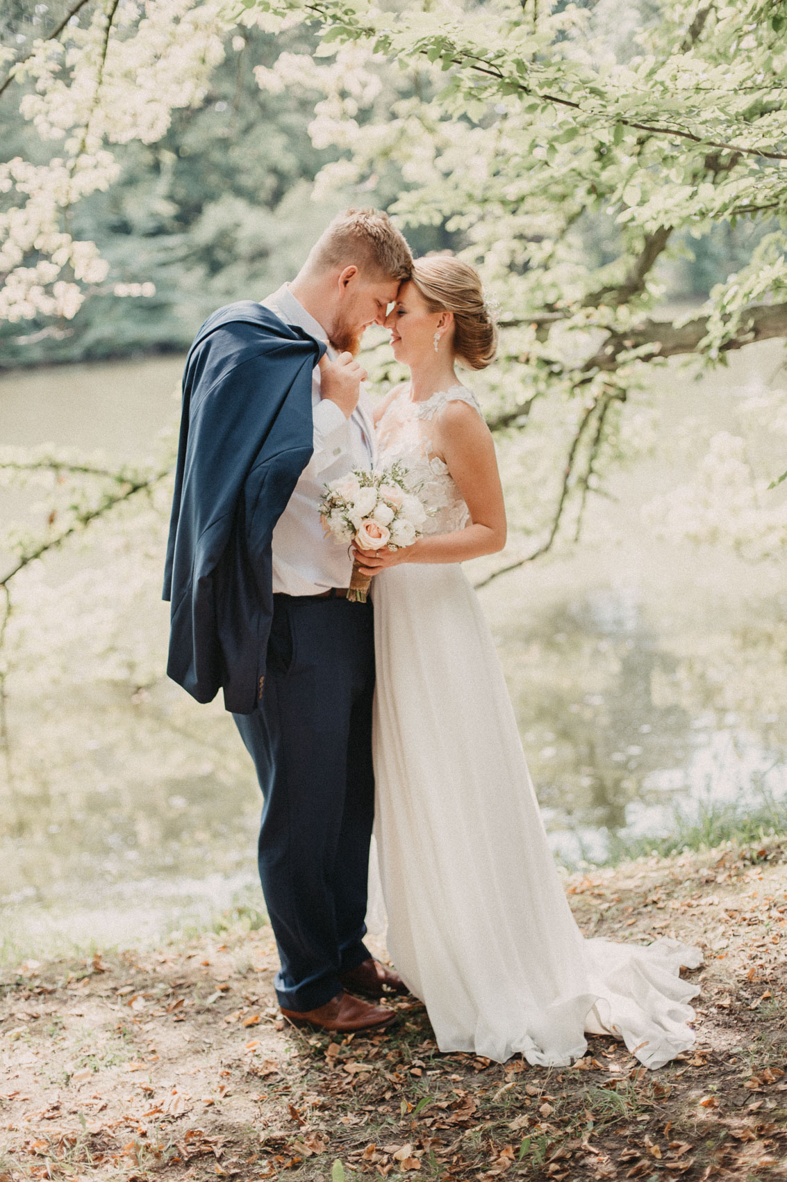 portréty novomanželů v klimkovickém parku 1