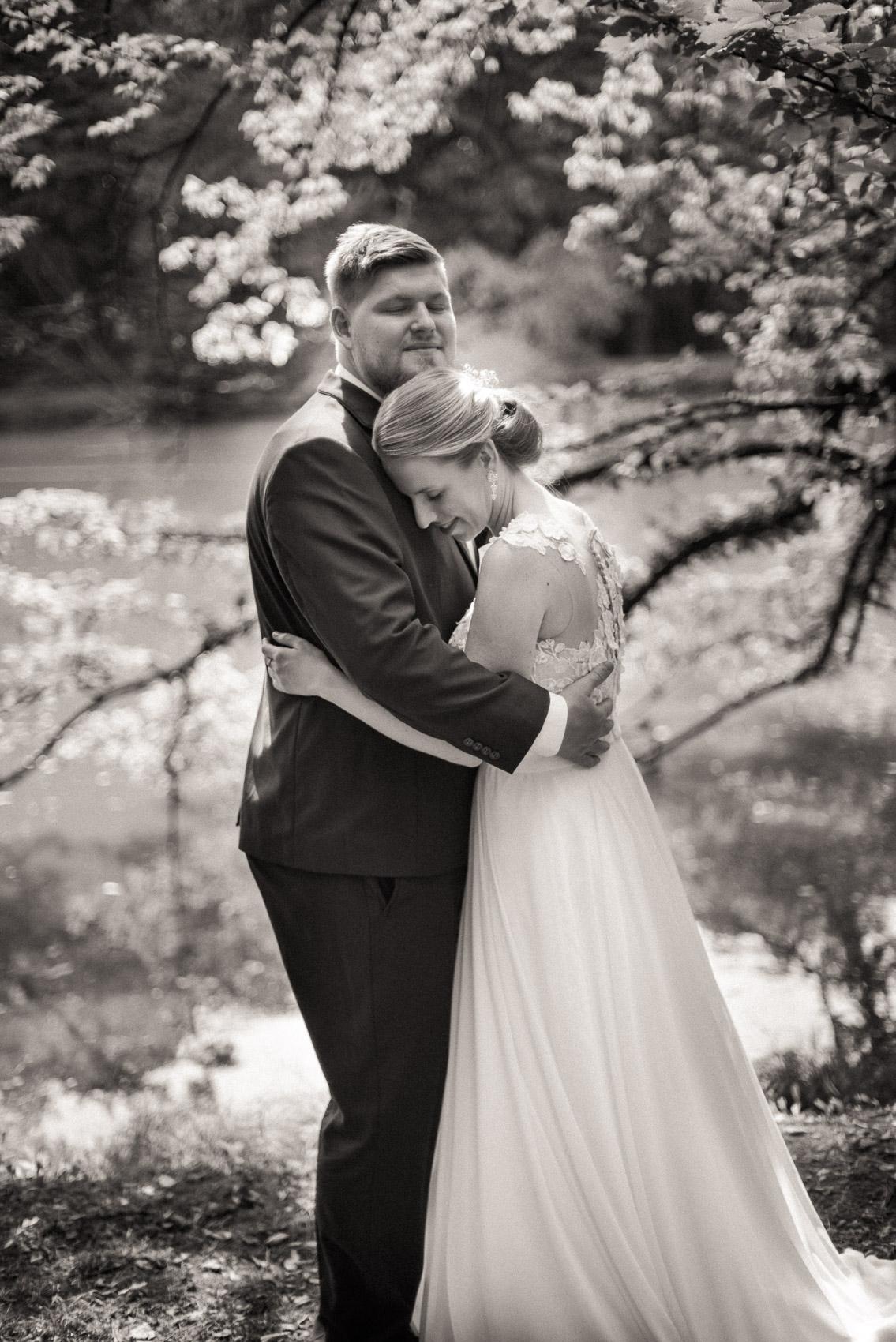 svatební focení v klimkovickém parku 3
