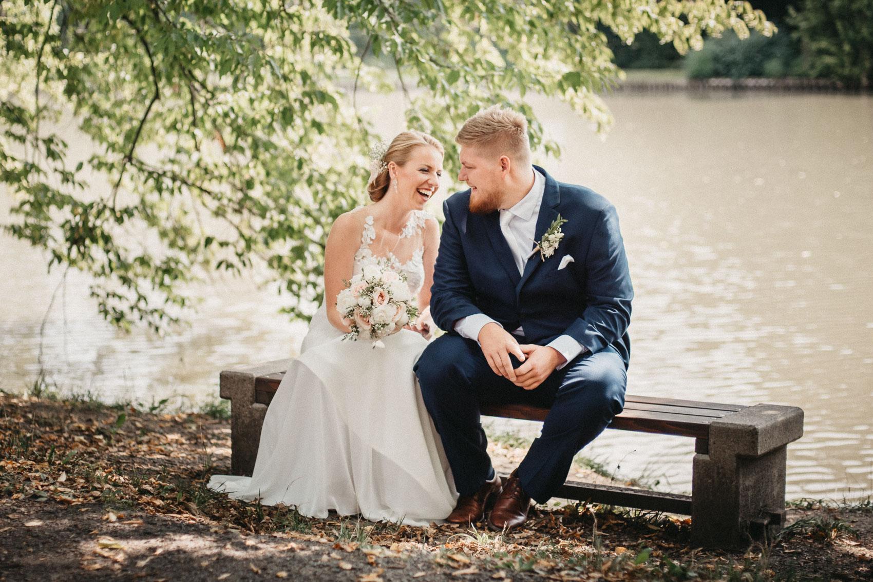 svatební focení v klimkovickém parku 2