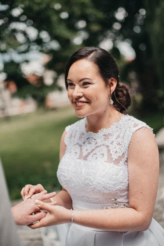 svatba v chalupkach nevěsta