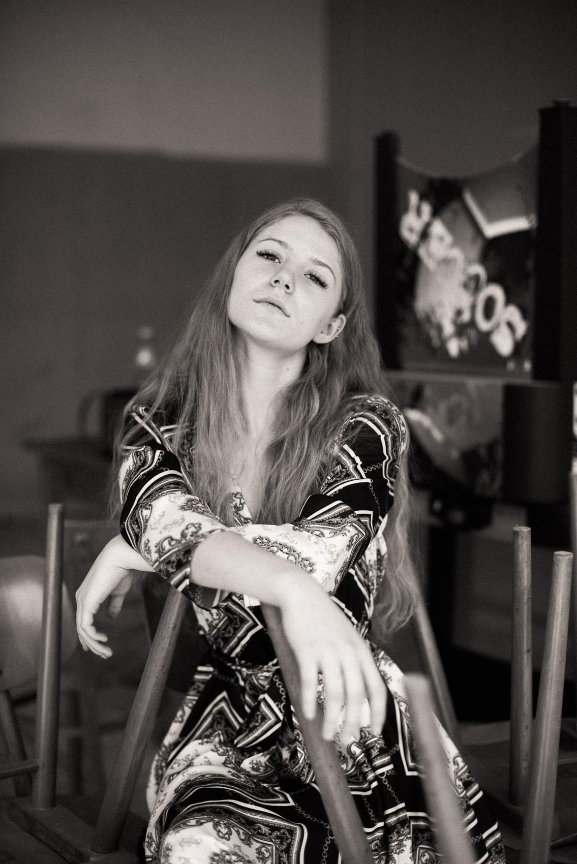 rustikalni portrétní fotografie