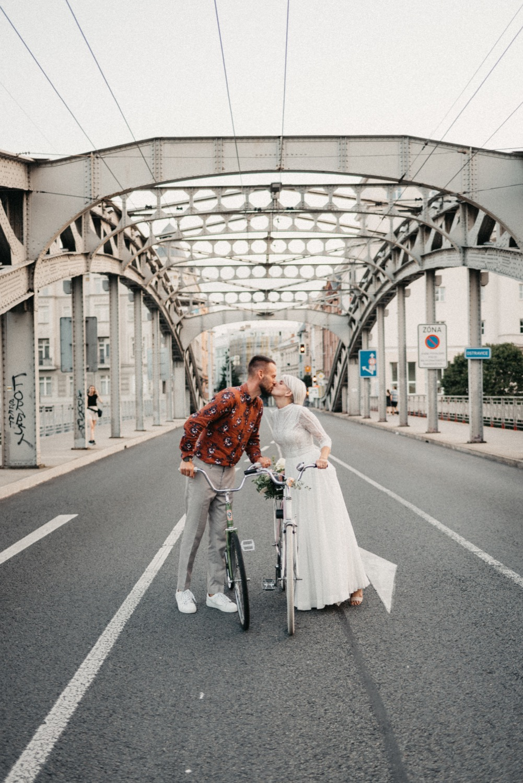 Svatba Sýkorův Most na kolech