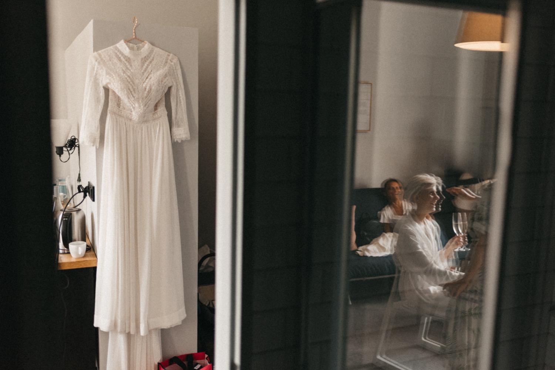 Svatba City City přípravy šaty Pronovias